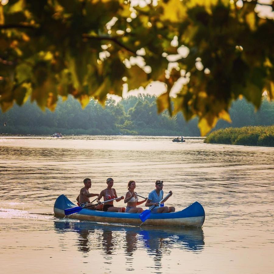 Hungary canoe