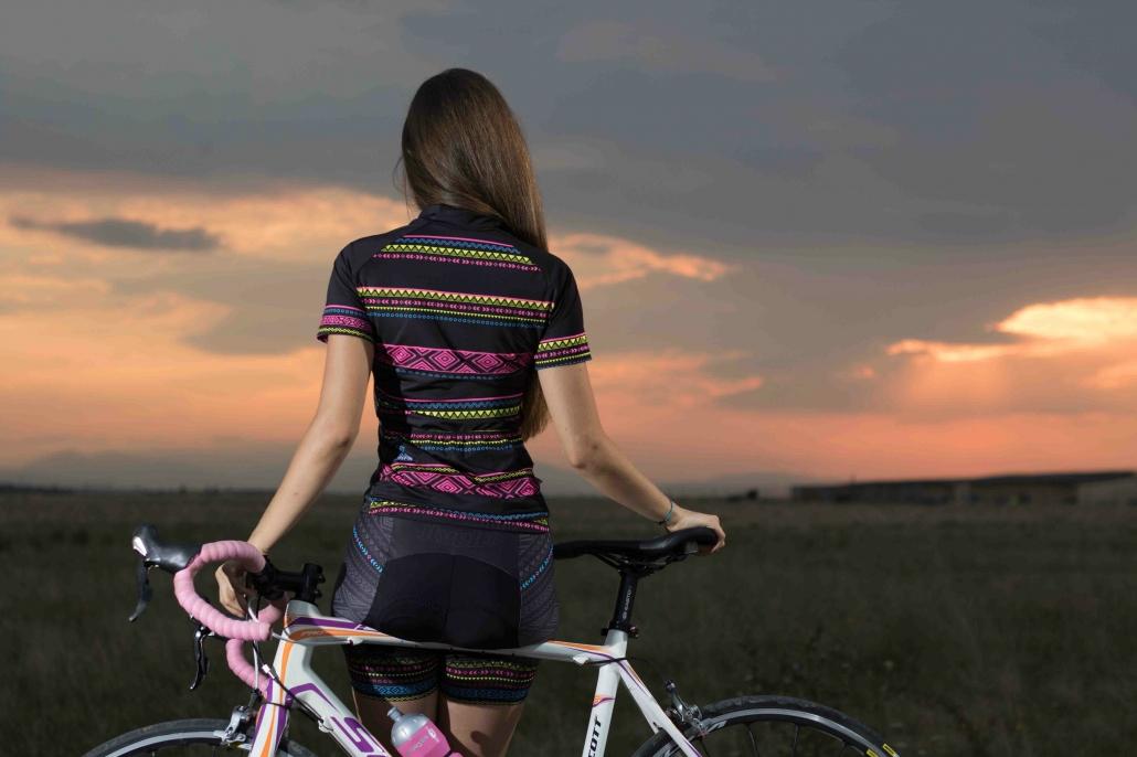 Ladies cycling kit