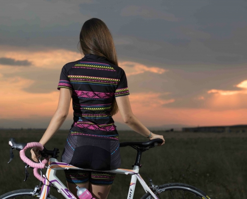 Ladies cycling kit
