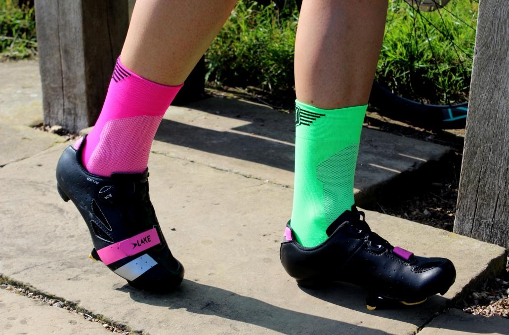 Larisa Chinces Studley Royal Cycling Socks