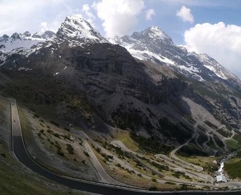 Stelvio Pass cycling Route