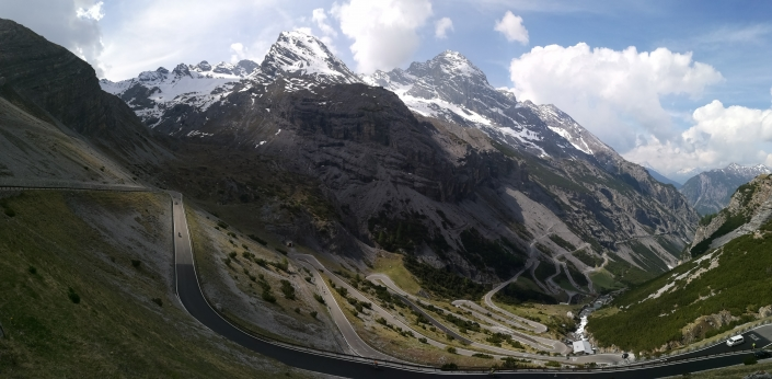 Stelvio Pass cycling Route