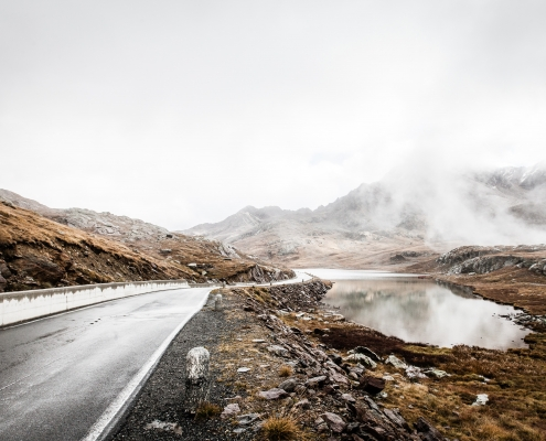 Garvia Pass Cycling Route