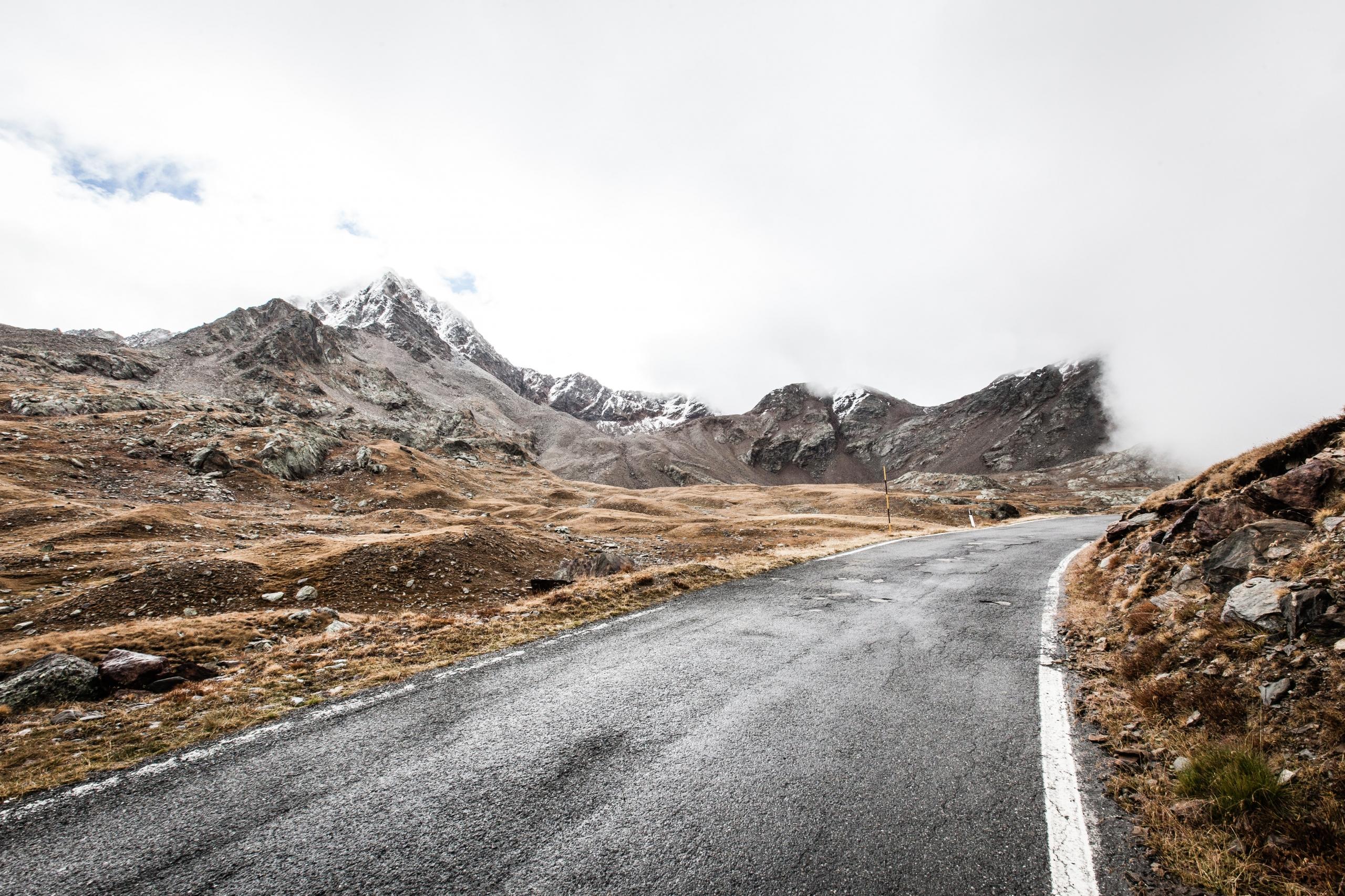 Garcia Pass Cycling Route