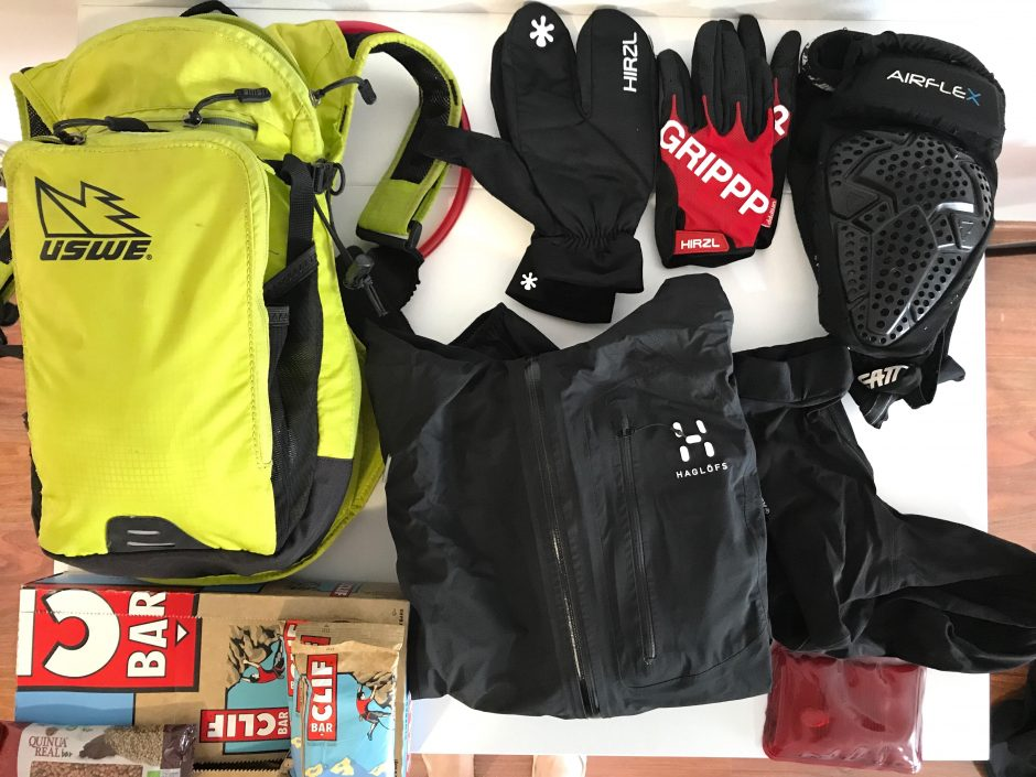 Mountain bike kit