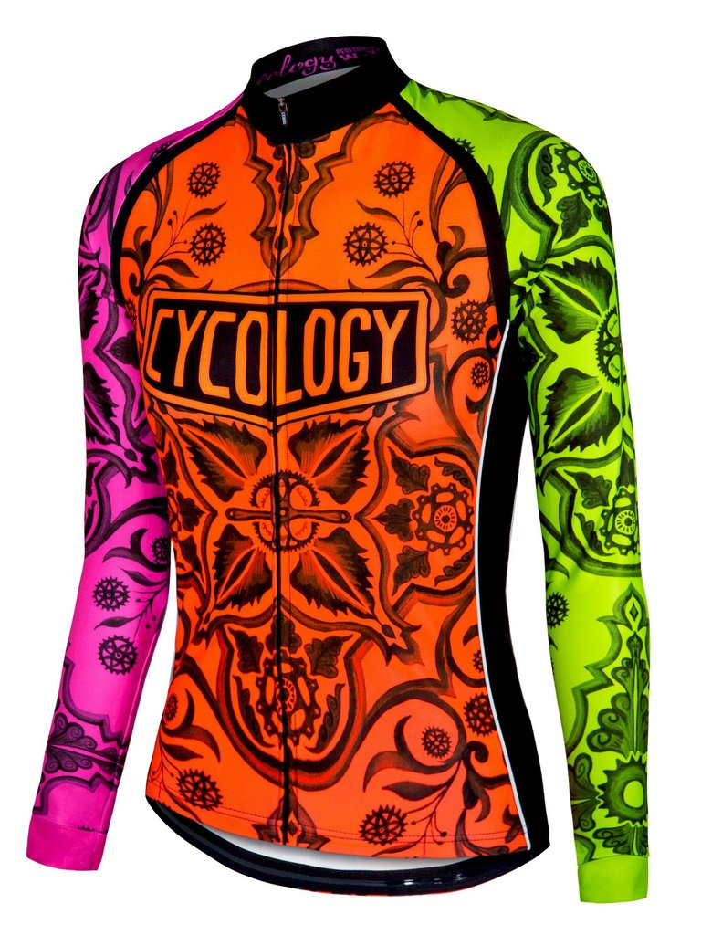Cycology long sleeve cycling jersey