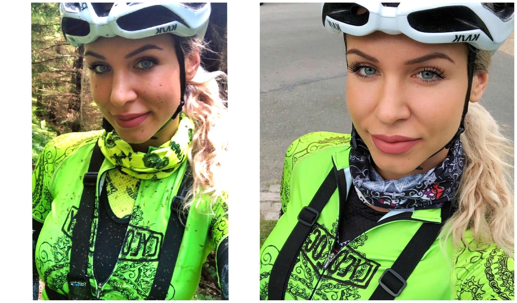 Cycling Base Layers Larisa Chinces