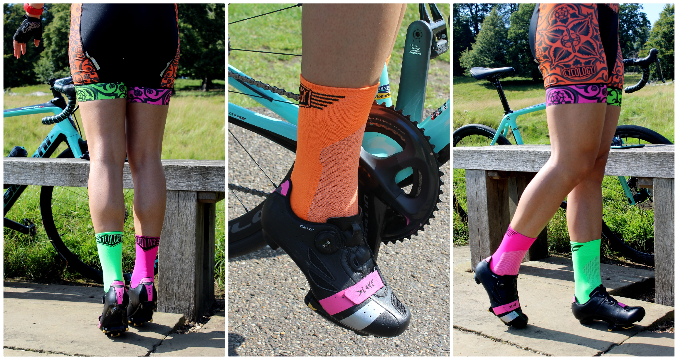 Lake Cycling Shoes and Larisa Chinces