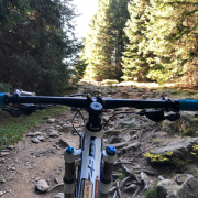 Transylvania mountain bike