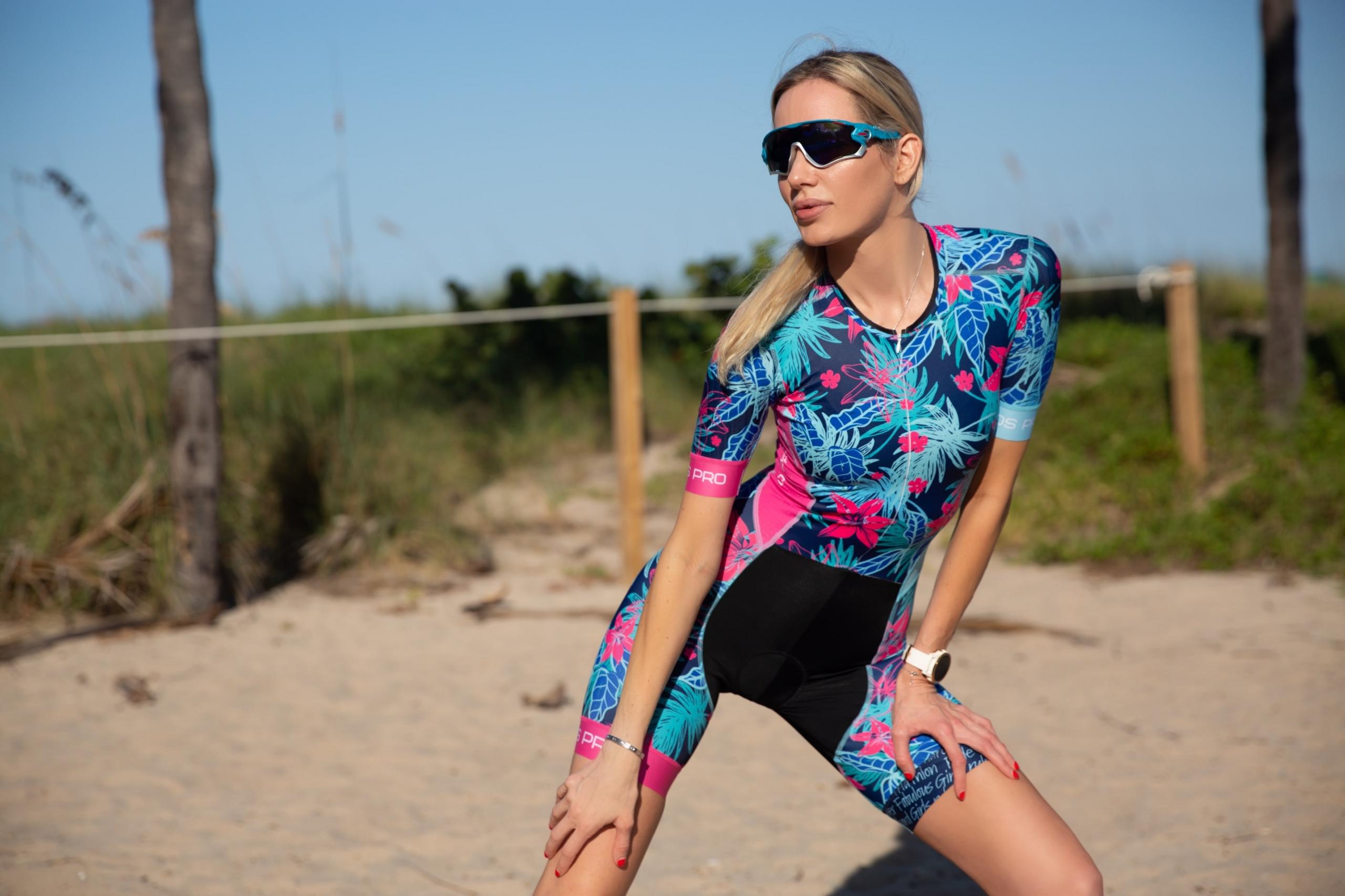 Nadezhda Pavlova Triathlon Suit
