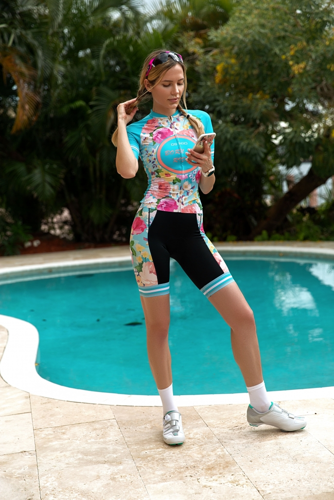 Ladies cycling kit by Designed for Cycling