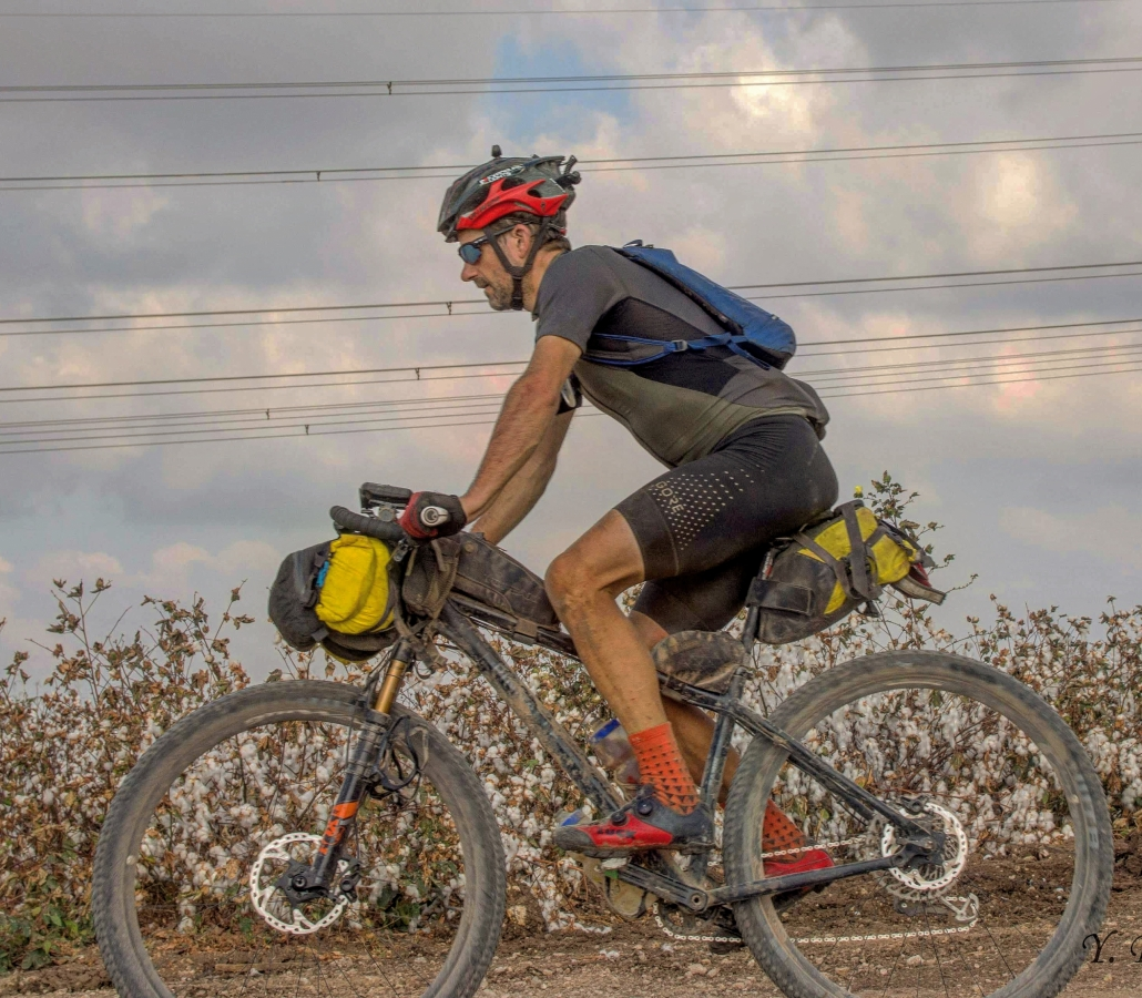 Scott Cornish bikepacking