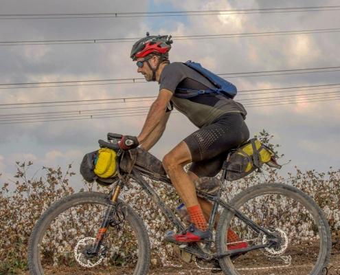 Scott Cornish bikepacking