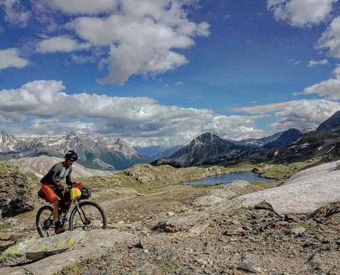 Scott Cornish Bikepacking in the Alps